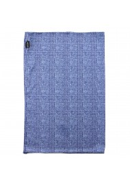 prince of wales gaiter mask in blue