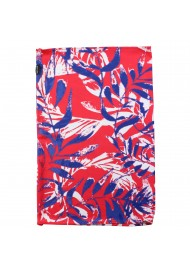 pop art hawaii print gaiter mask