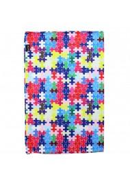 autism awareness neck scarf