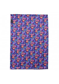 colorful paisley gaiter
