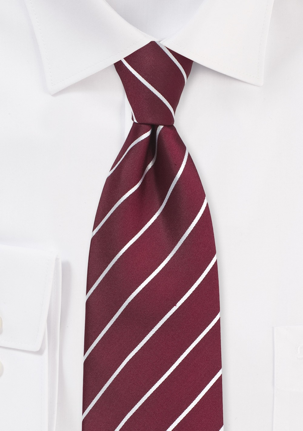 Slim Cotton Tie Red /& Green Plaid Business Formal