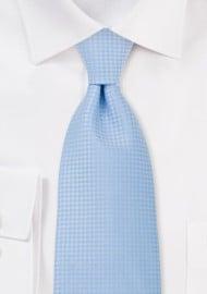 Light Blue Mens Necktie
