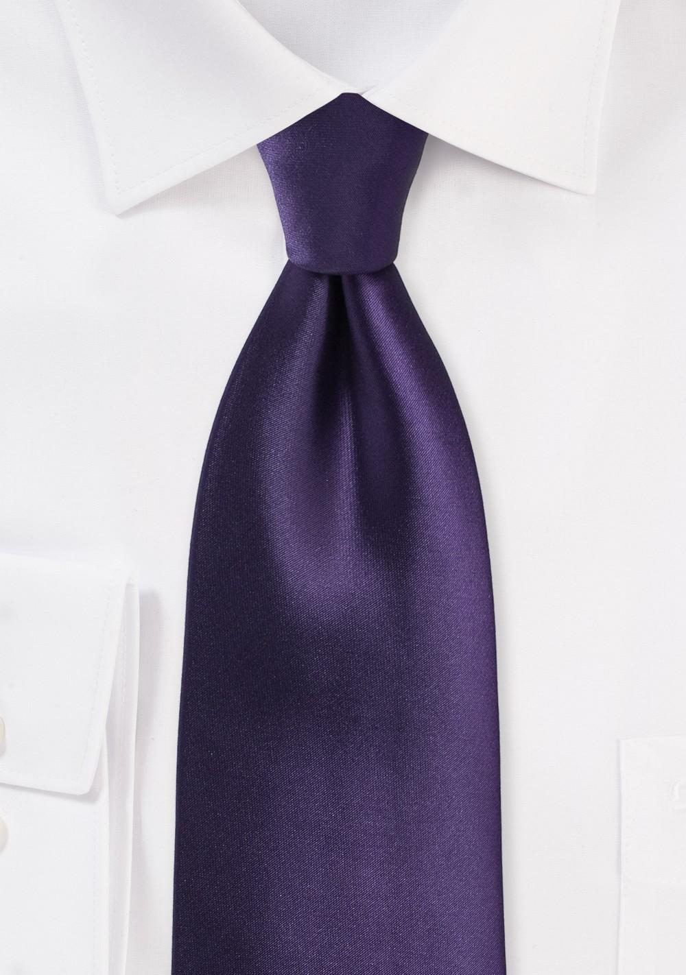 Majesty Purple Necktie