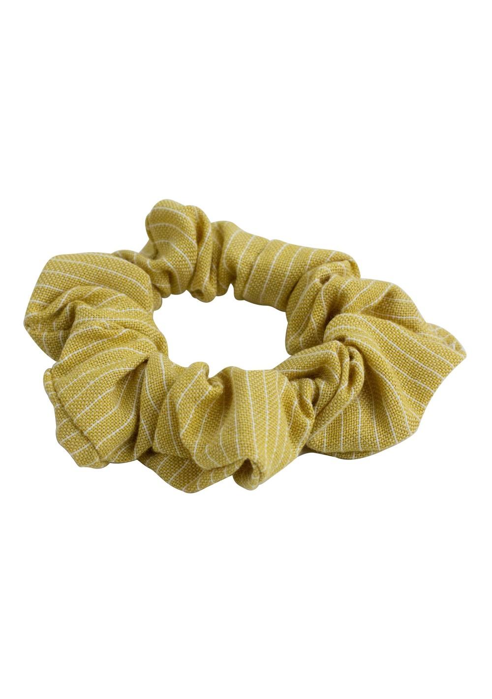 Ochre Gold scrunchie