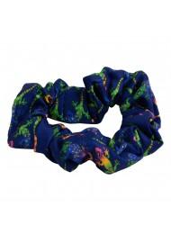 gecko print scrunchie