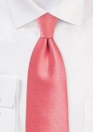 Kids Tie in Georgia Peach Color