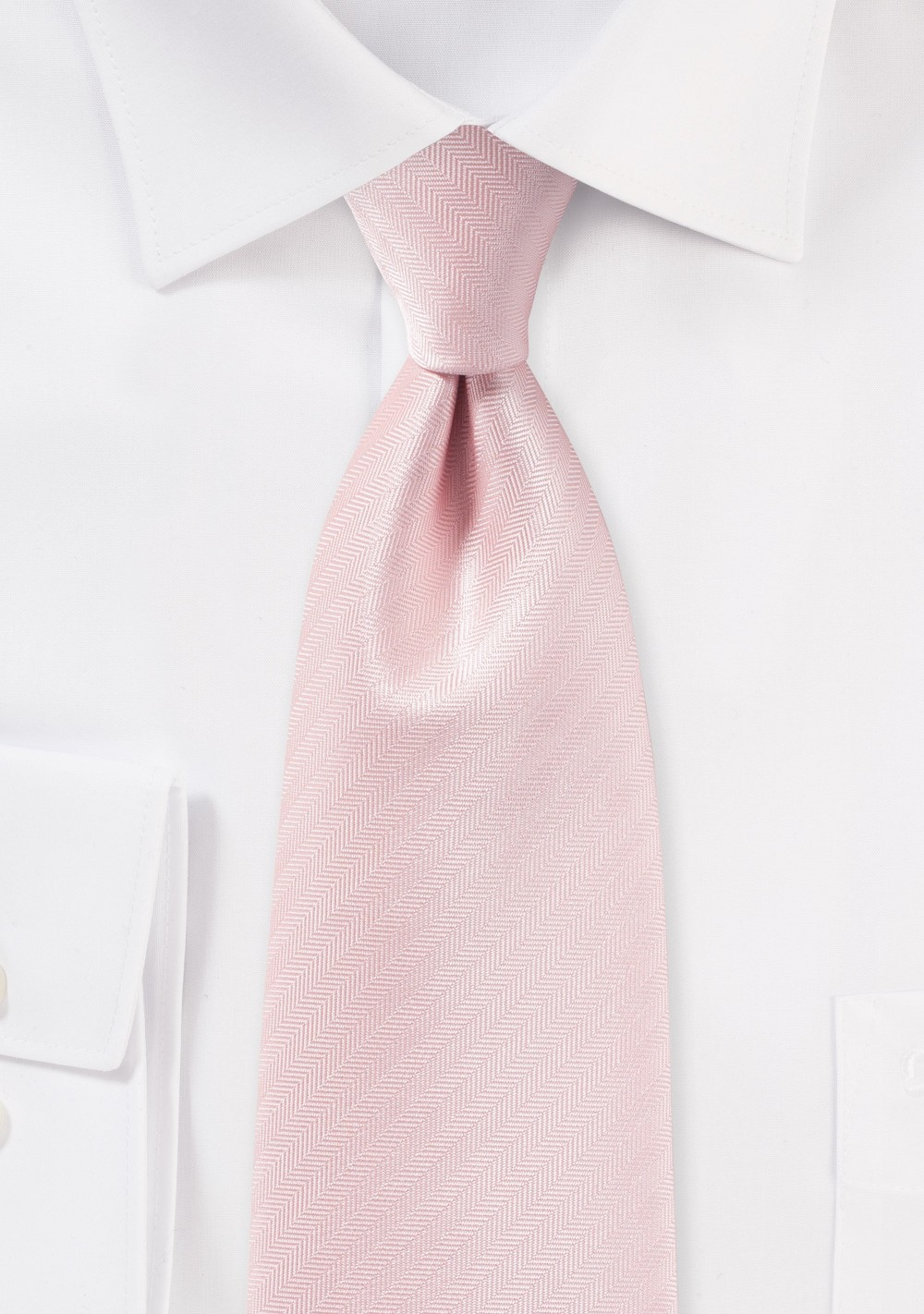 Peach Blush Textured Necktie