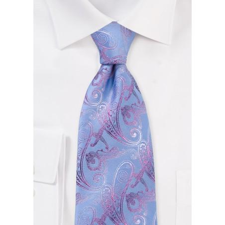 Pastel Paisley Tie