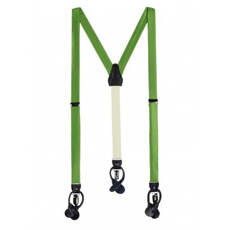 Fern Green Mens Suspenders
