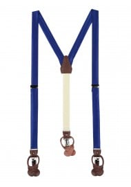 Royal Blue Mens Suspenders