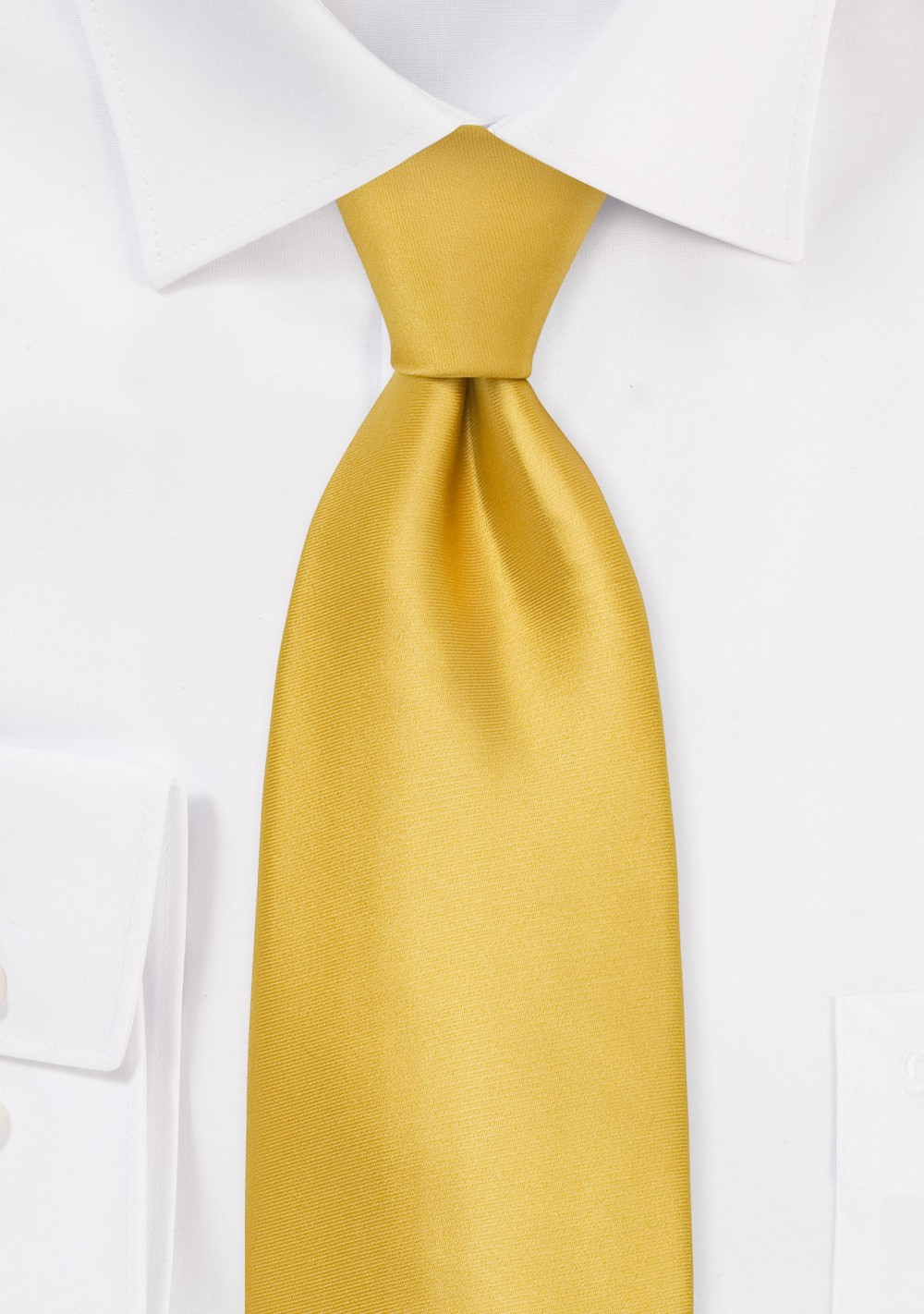 Golden-Yellow Silk Tie