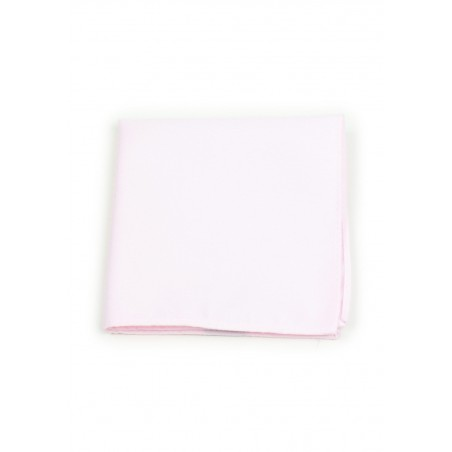 Soft Pink Pocket Square Hanky