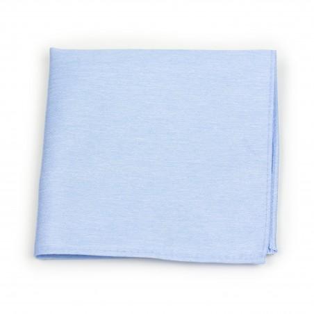 Sky Blue Pocket Square