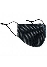Black Pin Filter Face Mask