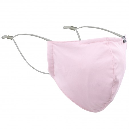Blush Pink Cotton Filter Mask