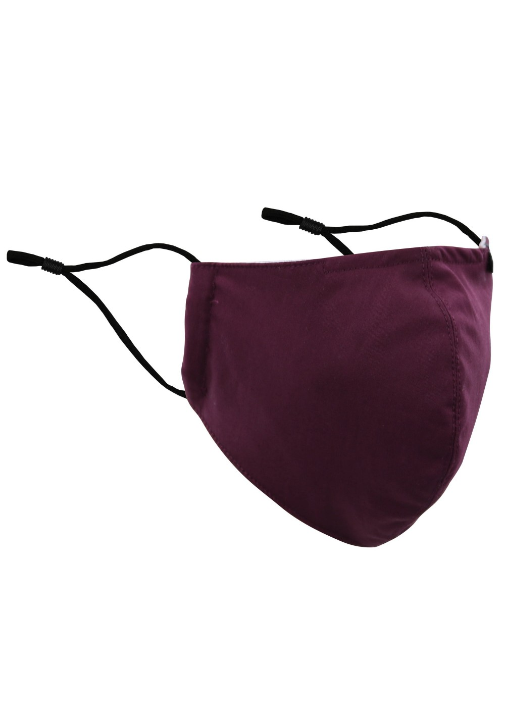 Plum Color Filter Mask in Cotton
