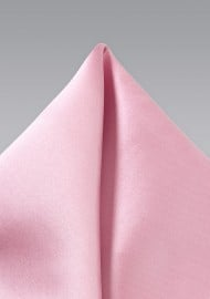 Pocket Square in Dusty Rose Pink