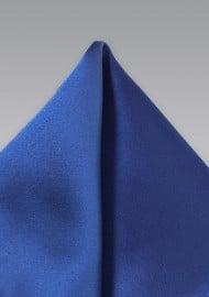 Royal Blue Colored Pocket Square