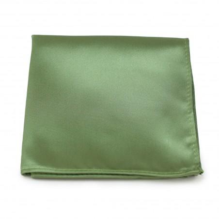 Sage Color Pocket Square