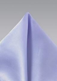 Solid Lavender Hued Men's Pocket Square
