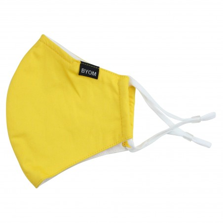 Canary Yellow Filter Mask