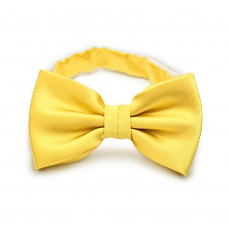 Bright Sun Yellow Bow Tie