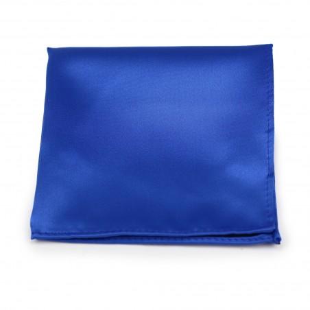 Marine Blue Pocket Square