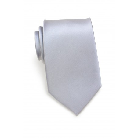 Silver Gray Necktie