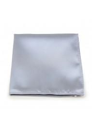 Silver Gray Pocket Square