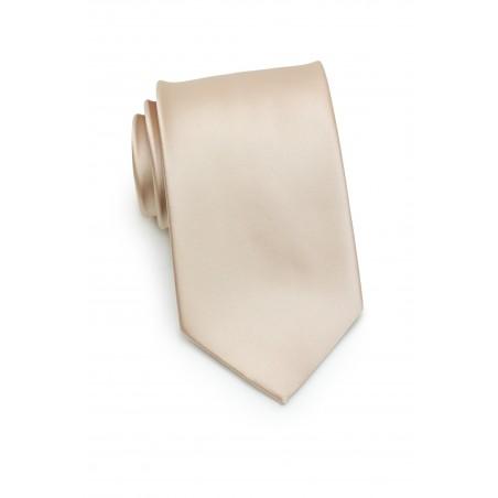 Champagne Cream Necktie