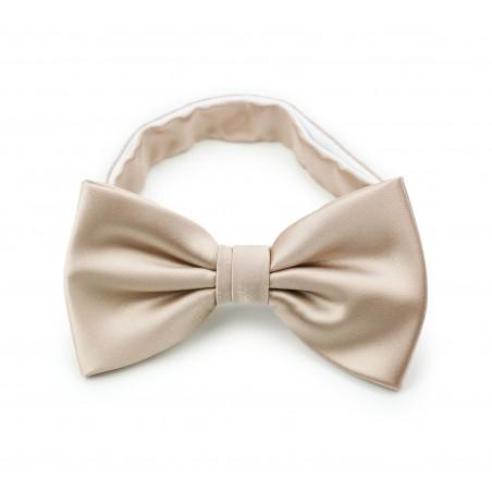 Champagne Cream Bow Tie