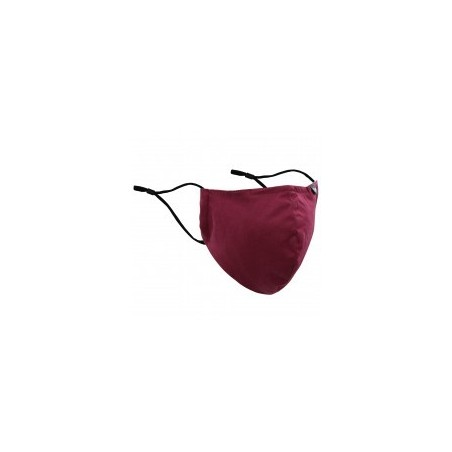 Burgundy Red Mask