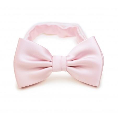 Blush Pink Bow Tie