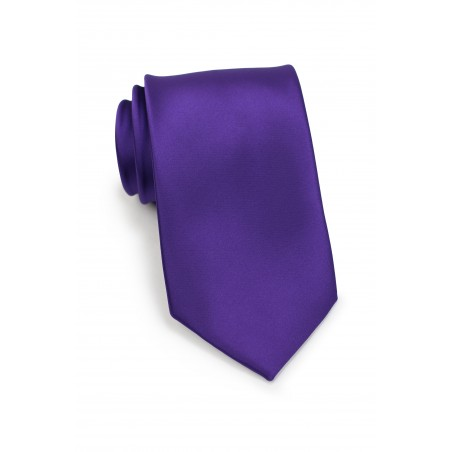 Regency Purple Necktie