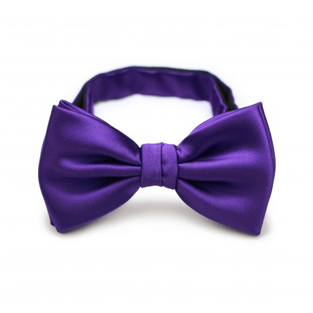 Regency Purple Bow Tie