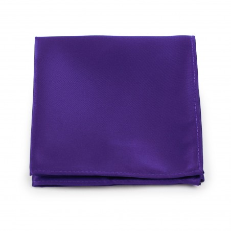 Regency Purple Pocket Square