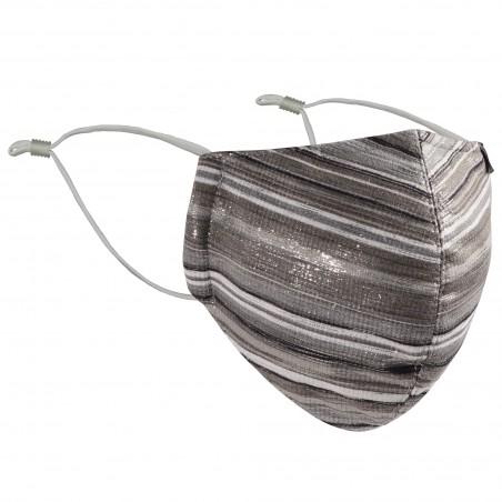 Ultimate Glitter Mask in Platinum