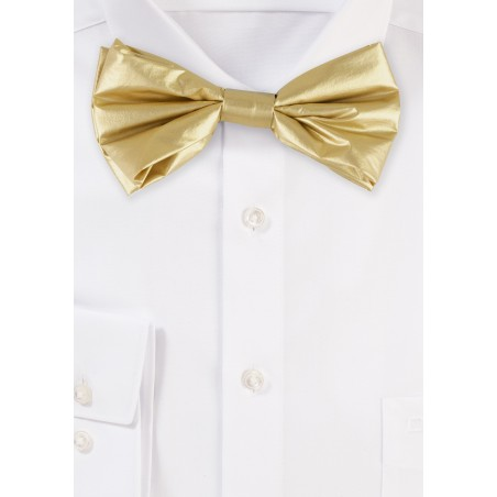 Vegas Gold Mens Bow Tie