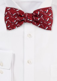 Fun Christmas Print Bow Tie