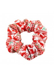 Scandinavian Christmas Design Scrunchie