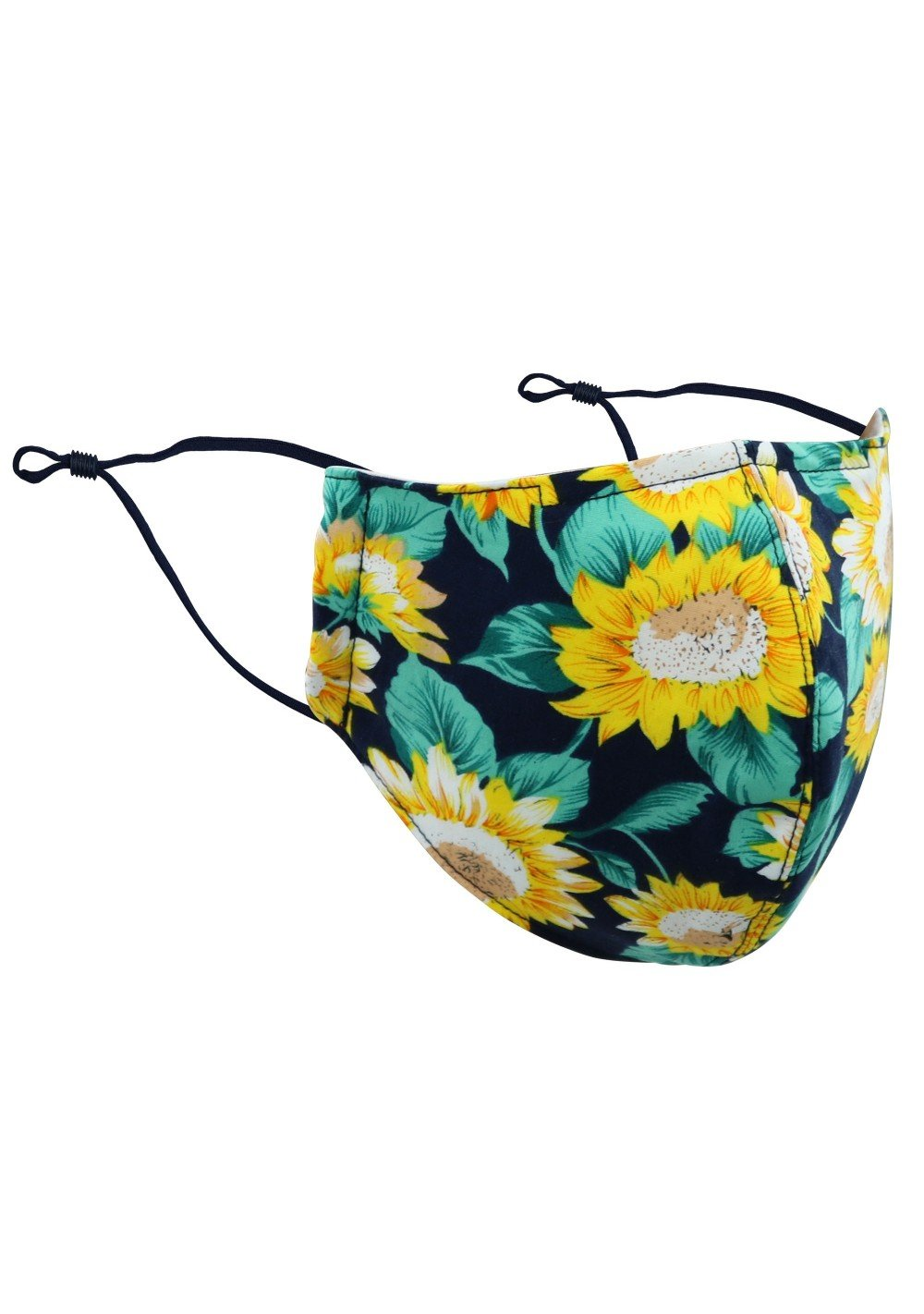 Sunflower Print Mask