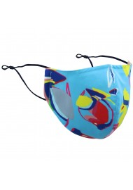 Tropical Fish Print Mask