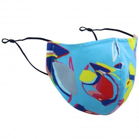 Tropical Fish Print Mask