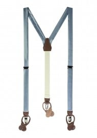 Steel Blue Suspenders