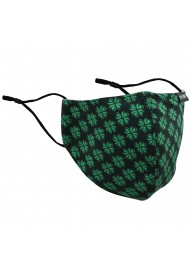 4-Leaf Clover Print Filter Mask