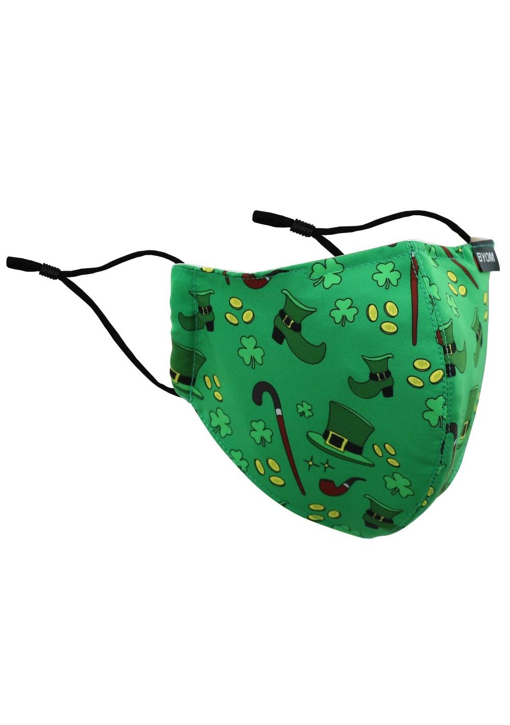 Lucky Irish Designer Mask