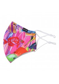 Filter Mask in Tropical Reef Print