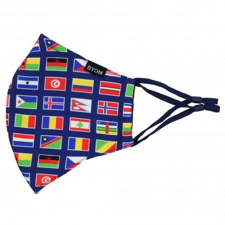 Flags of the World Face Mask