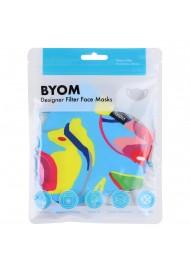 Tropical Fish Print Mask in Mask Bag