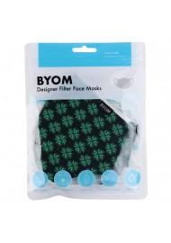 4-Leaf Clover Print Filter Mask in Mask Bag